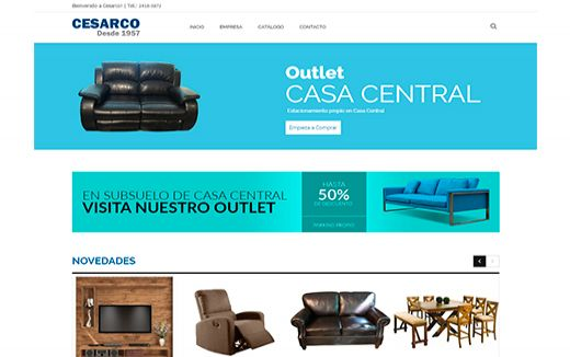 Cesarco / Decoración de Interiores